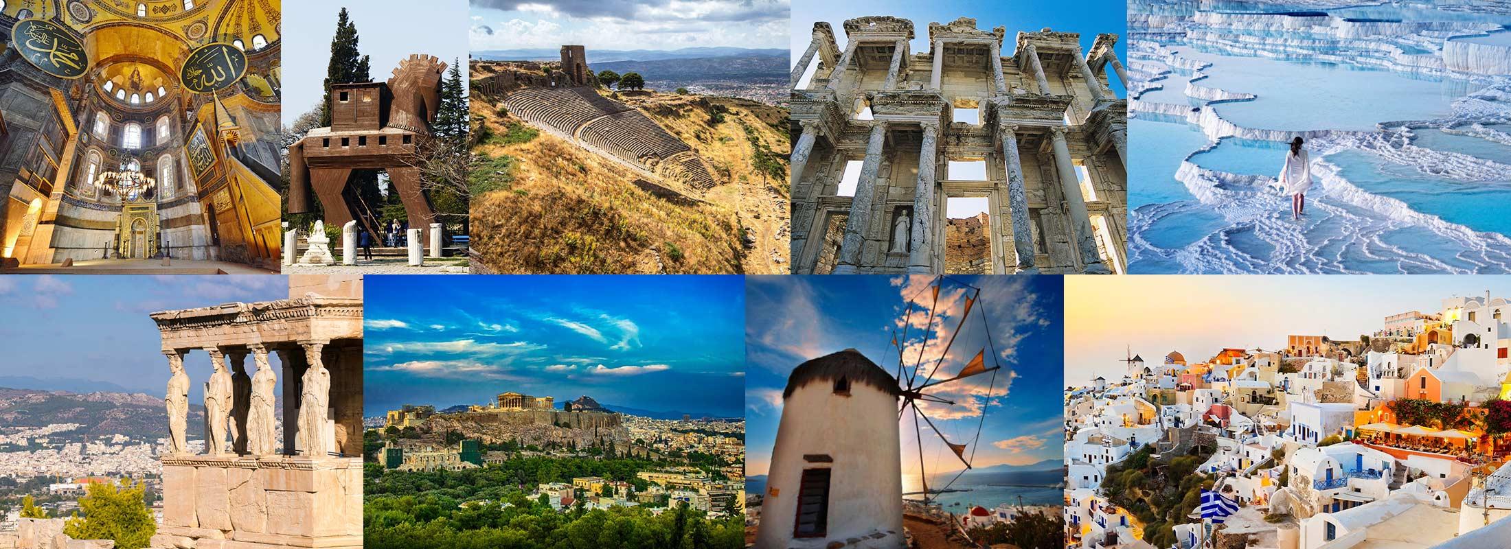 paquetes de viajes Turquia y Grecia desde Espana